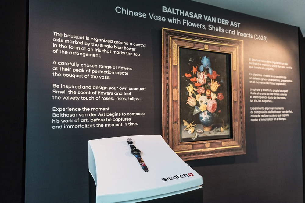 The Museum Journey Continues: SWATCH Partners with the Thyssen Museum