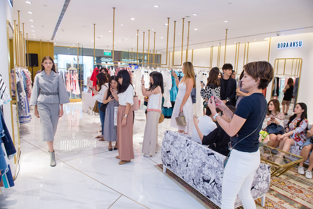 BORA AKSU Opens Its First Store In Singapore With An Evening Full Of Flair
