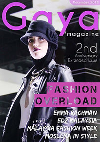 Gaya Magazine November issue - Hijab fashion, Modest Fashion, Muslim Fashion