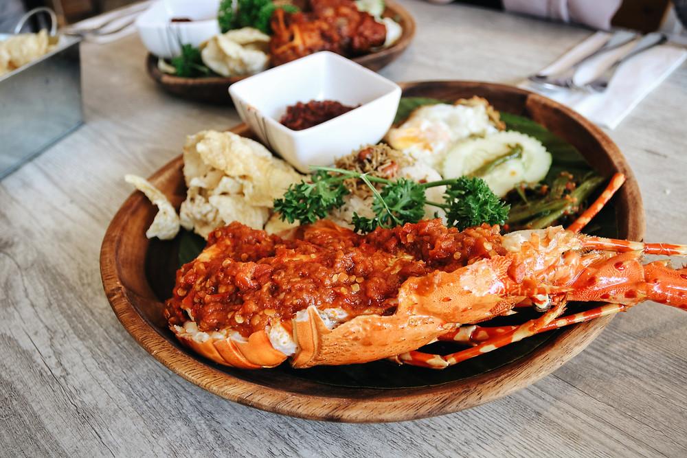 Chef Wan's Balado Lobster Nasi Lemak