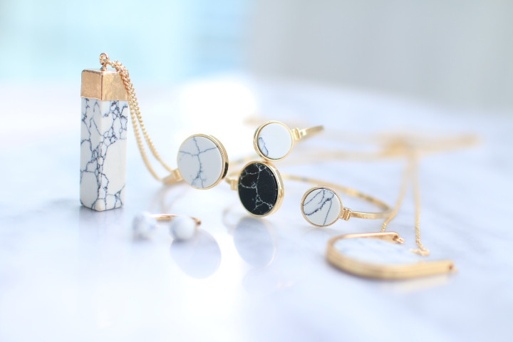 LADY N JEWELRY -MARBLE COLLECTION