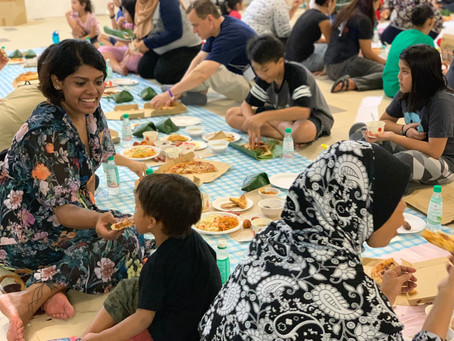 Domino's Pizza Gives Back to the Community at Iftar Block Party