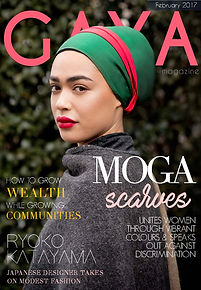 Gaya Magazine February issue - Hijab fashion, Modest Fashion, Muslim Fashion