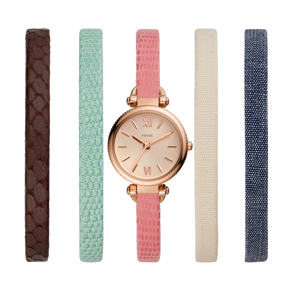 The Georgia Mini retails at SGD 769, with only six units available in Singapore at Fossil ION Orchard.