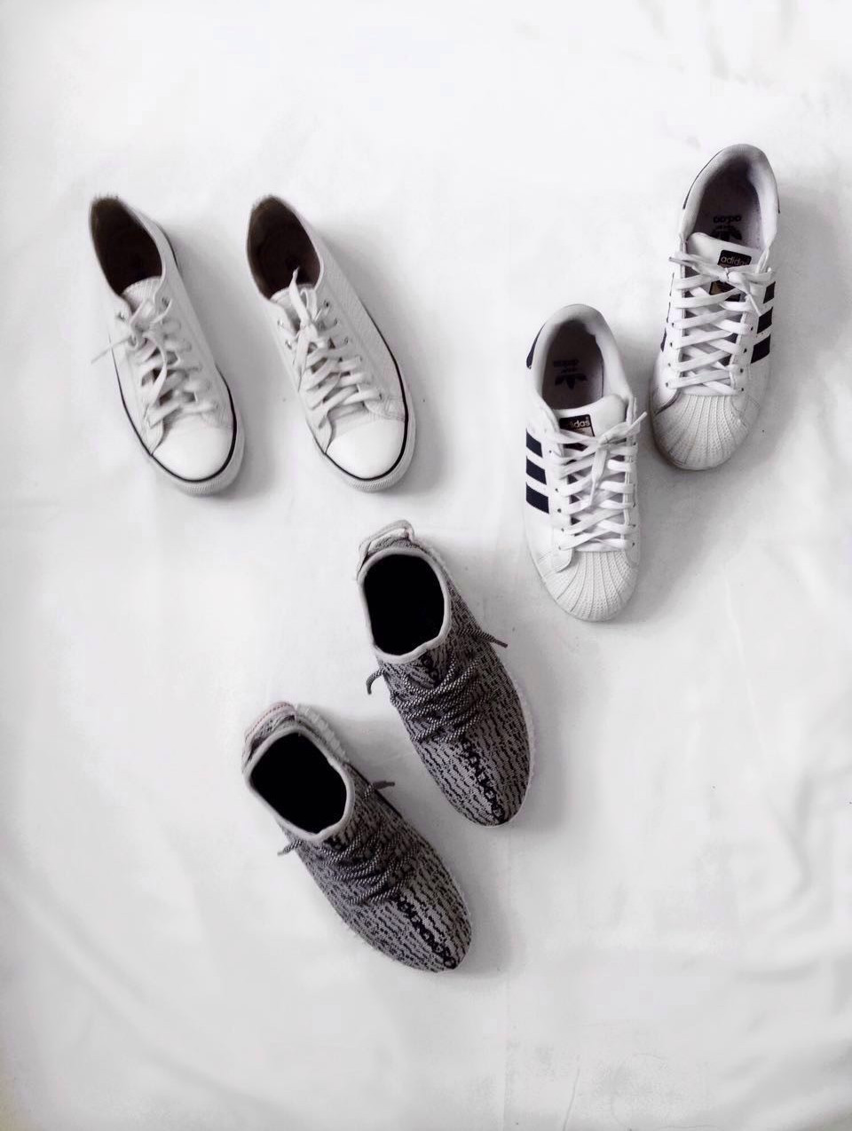 These are your trusty grab-and-go-out-the door shoes. I'm all about comfort, and when it comes to shoes, my everyday choice are sneakers.