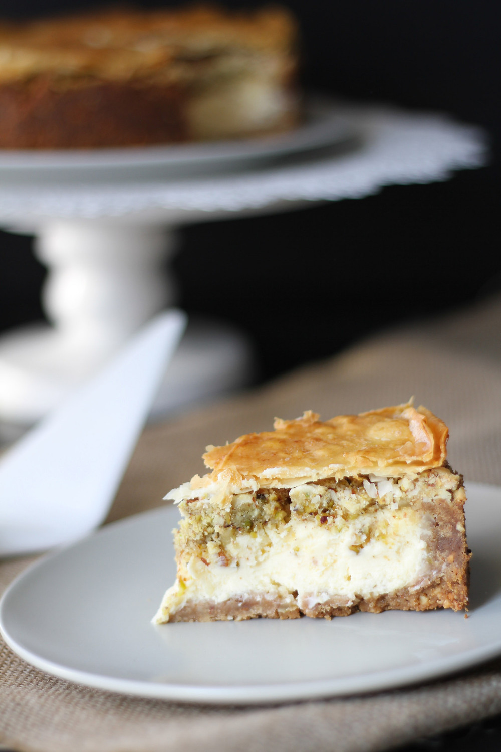Baklava Cheesecake recipe