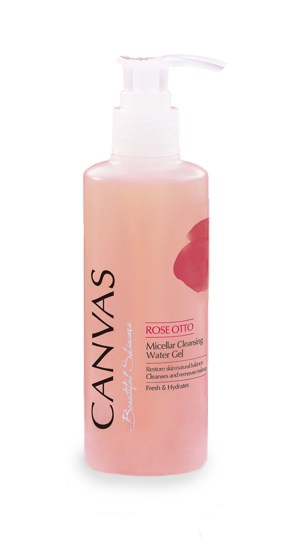 CANVAS Rose Otto Micellar Cleansing Water Gel