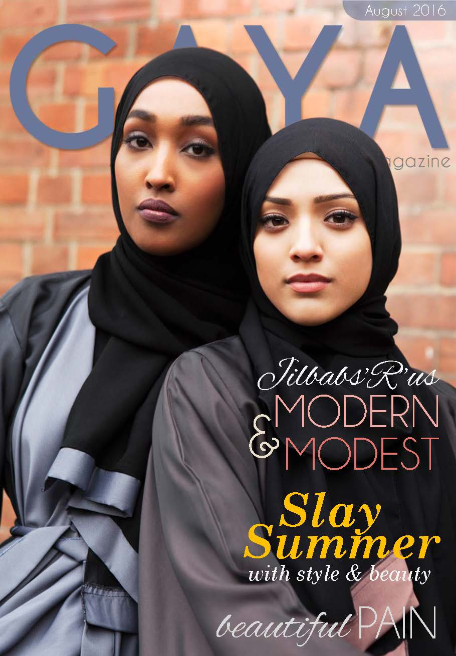 Gaya Magazine August issue - The best in hijab fashion and modest fashion.