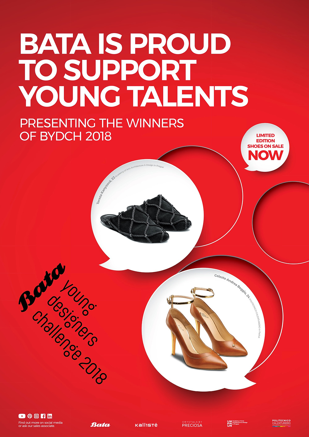 BATA Launches Limited-Edition Line following Young Designers Challenge