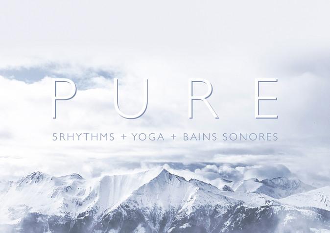 PURE   5Rhythms Yoga & Sound Bath Retreat