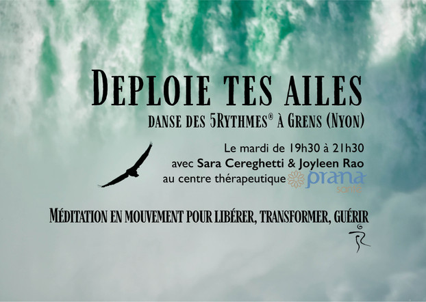 New 5Rhythms Class in Grens (Nyon)