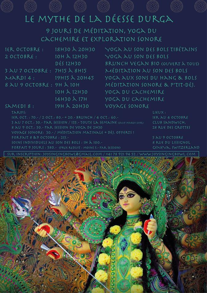 9 days of Durga's celebration