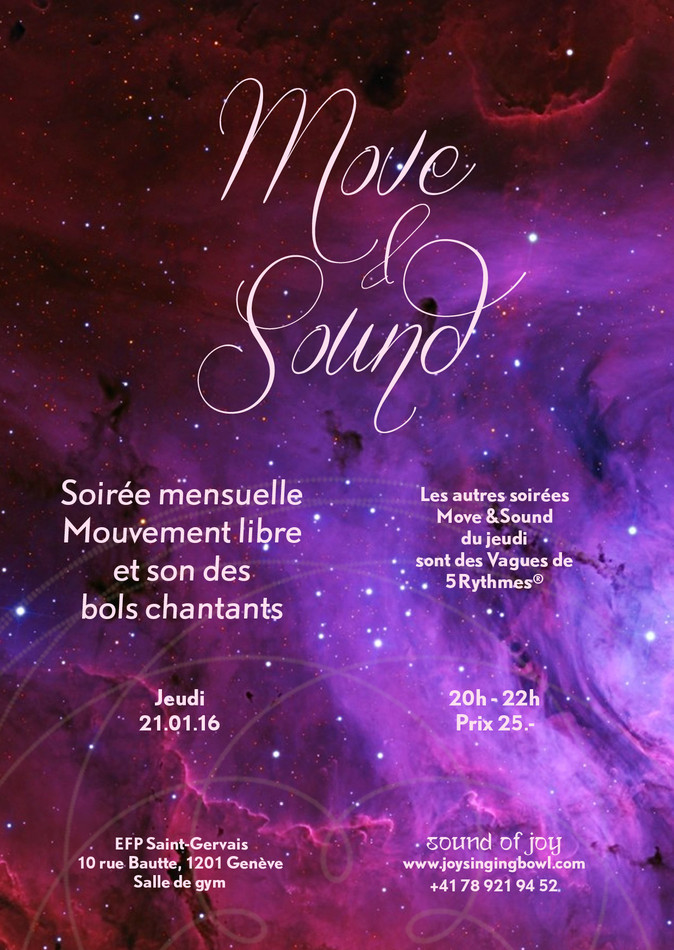 Dancing Meditation With Sound & Music