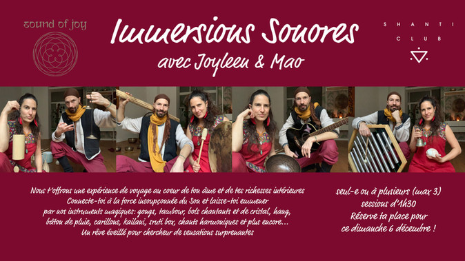 Immersions Sonores