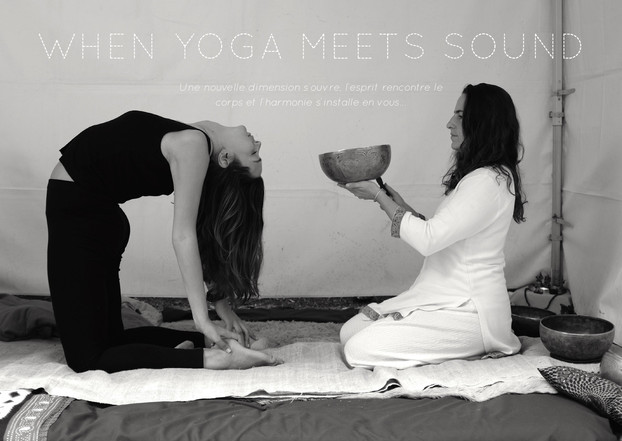 When Yoga meets Sound   A journey through the 5 elements & the chakras