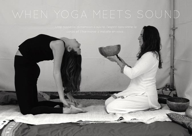 When Yoga meets Sound | A journey through the 5 elements & the chakras