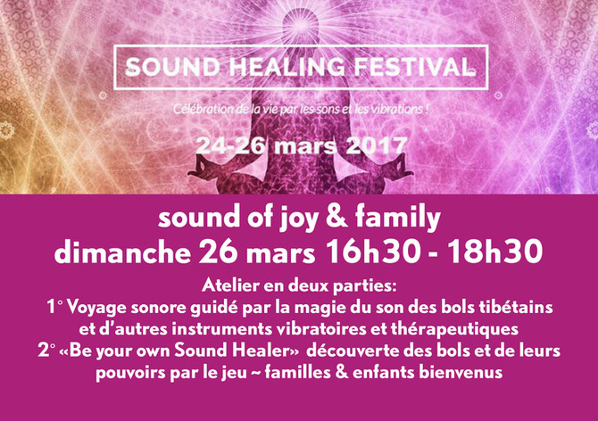 Sound Healing Festival