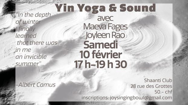 Yin Yoga & Healing Sounds