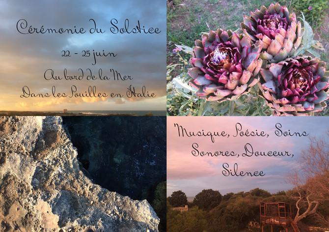 Solstice Retreat in Puglia