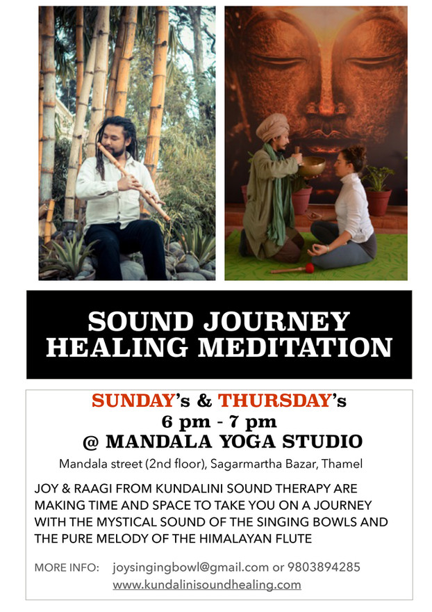 Sound journey healing meditation