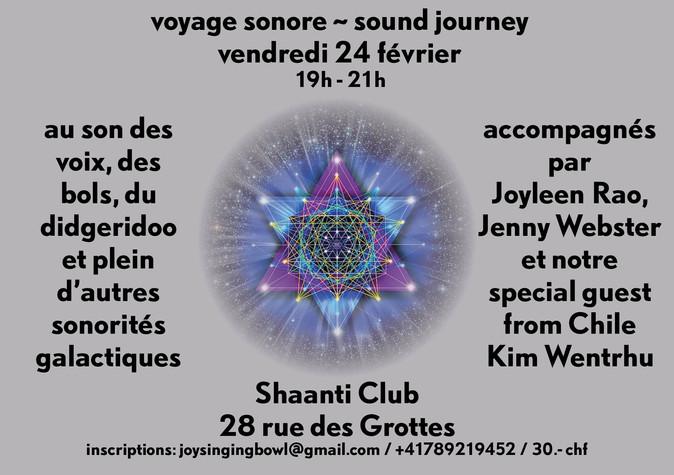 Sound Journey with Kim & Jenny  ~ Soul Family ReUnion