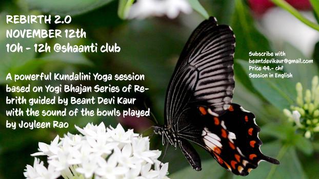 Kundalini Yoga Rebirth Series 2.0