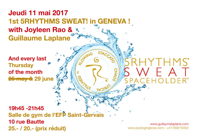 1st SWEAT your prayers in Geneva