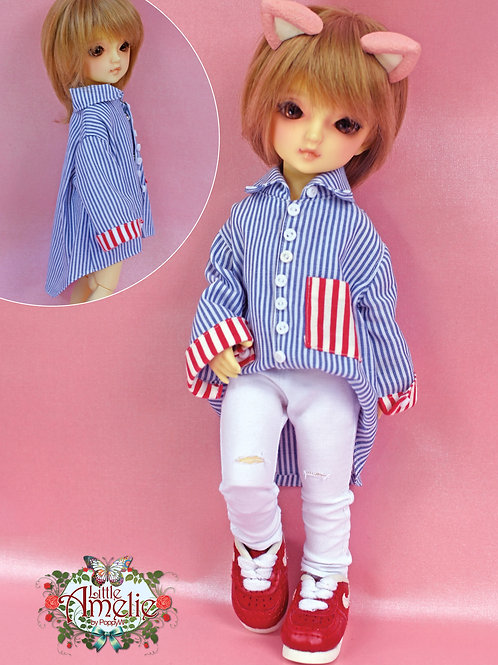 Patterns and Eng Instructions-Over size Shirt & Pants for YoSD