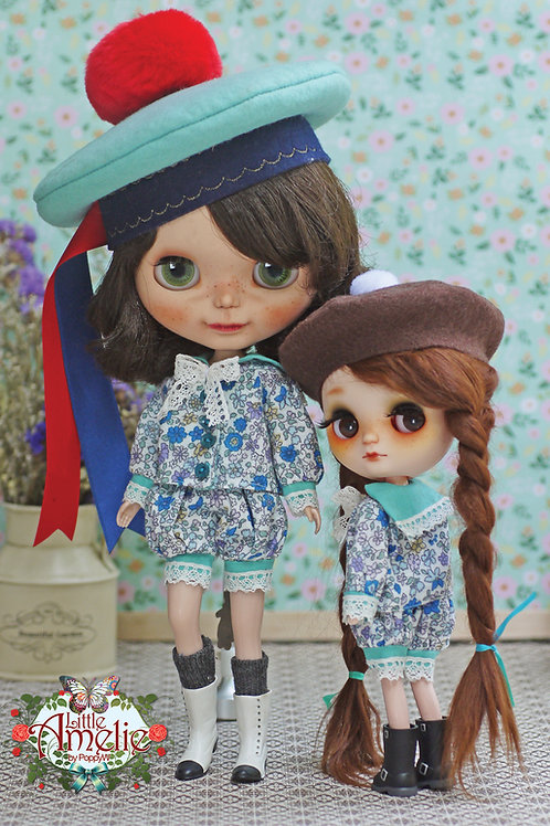 Patterns and English Instructions of The Sailor Sisters for Blythe and Middie Bl