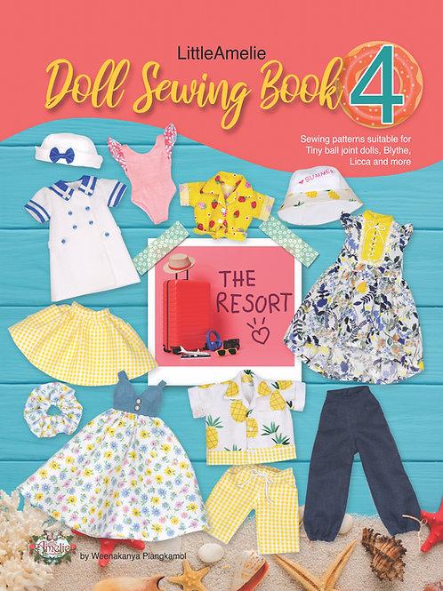 E-Book LittleAmelie Doll Sewing Book4 TH/EN