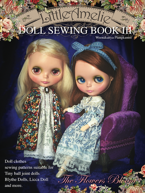 E-Book LittleAmelie Doll Sewing Book3 TH/EN