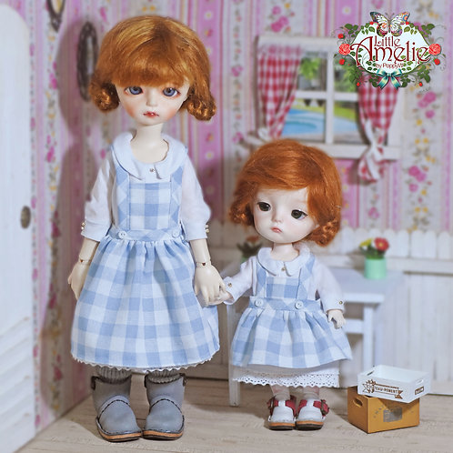 Patterns and English Instructions of Dress and overall skirt for Lati Y