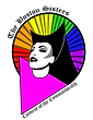 Logo: Boston Sisters of Perpetual Indulgence: showing a glamorous nun with a rainbow halo.