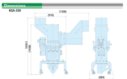 Dimensional Drawing (KGA-350)