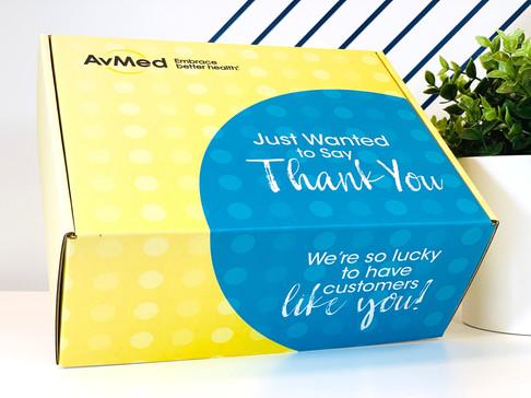 Avmed Thank You Box