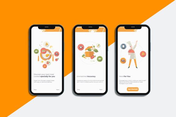 Fast Kitchen UI App Design