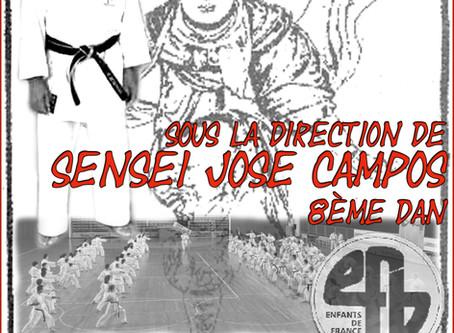 2018 Gasshuku  à Bergerac avec Sensei Campos