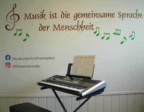 Musikunterricht Elfriede Marxreiter - So