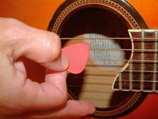Plektrum für Gitarre
