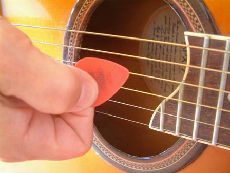 Gitarren-Plektrum