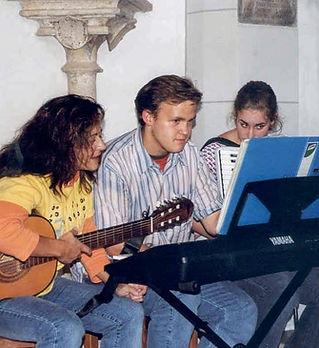 Kirche Schambach Musik Kindergottesdiens