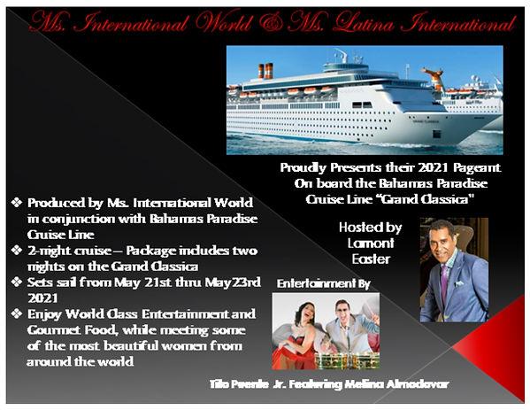 2021 - Presentation Ms. International Wo