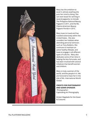 Modeling Article - Platform Magazine - M