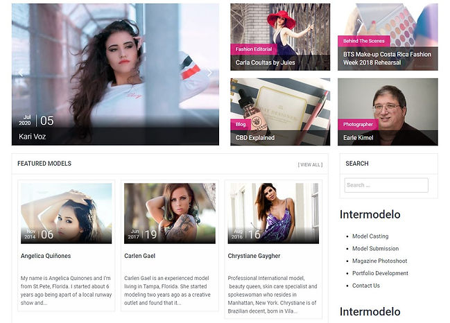 Modeling Article - Karina Bouzas - Inter