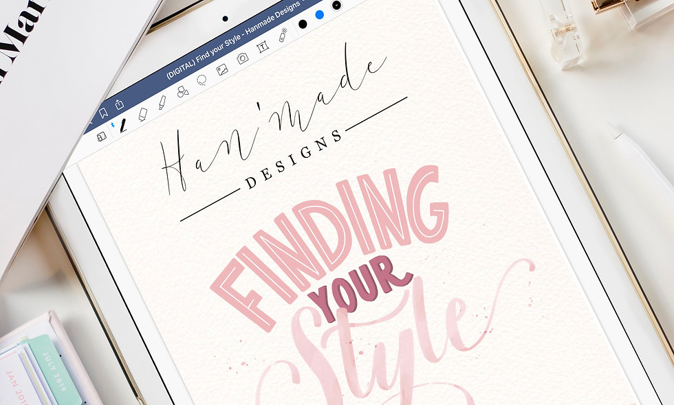 Finding Your Style (Print & Digital Edition)
