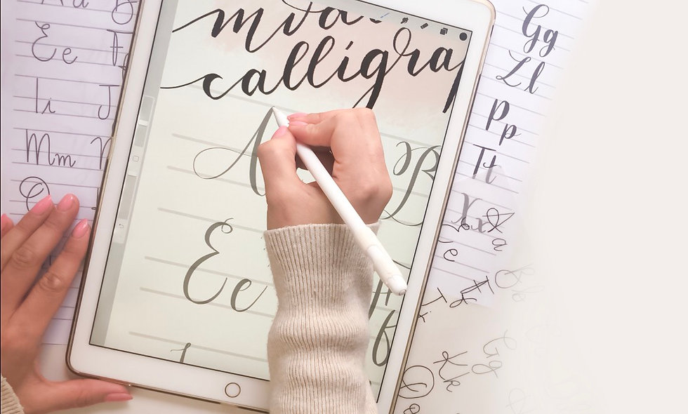 Modern Calligraphy PDF Lettering Guide