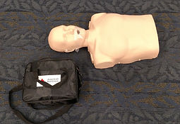 AED usage is covered thorougly