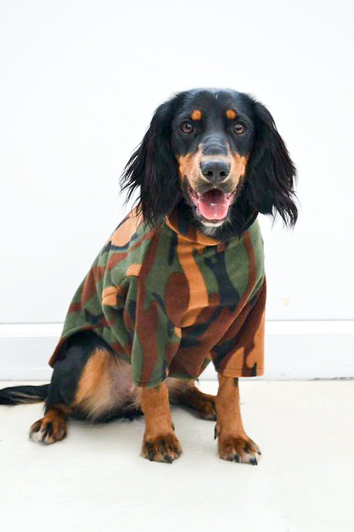 Fleece Jumper - CAMO