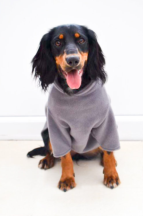 Fleece Jumper - CHARCOAL