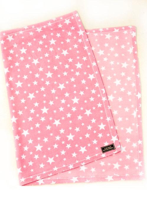 Single Sided Blanket - PINK STAR